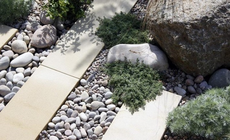 Ghiaia da giardino come trasformare l 39 area esterna in - Giardino con sassi bianchi ...