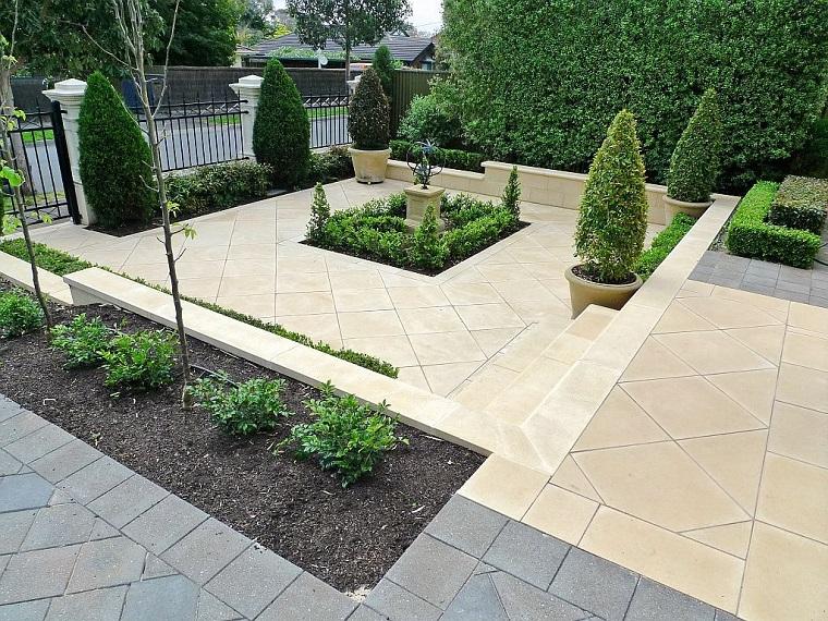 ghiaia da giardino stile moderno