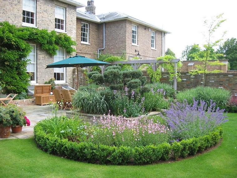 giardino fai da te casa rustica
