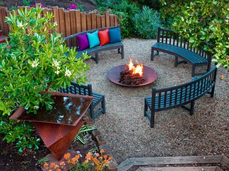 Panchine Da Giardino Fai Da Te : Progettare un giardino tante soluzioni anche fai da te archzine