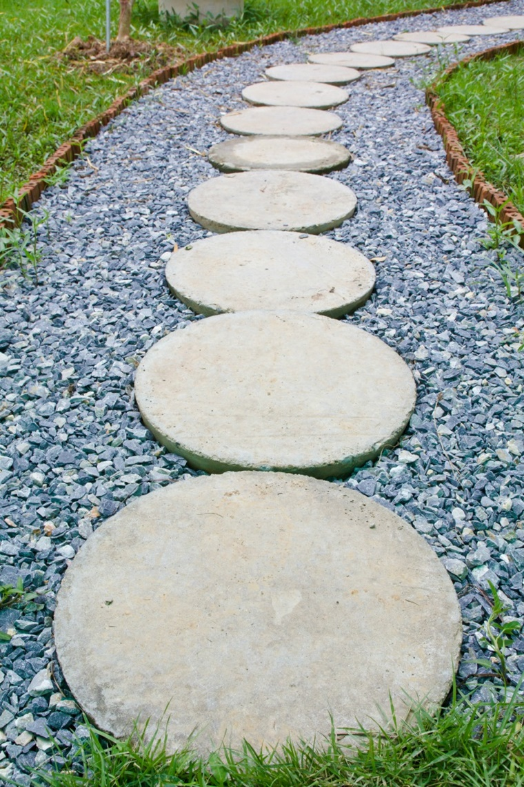 giardino fai da te vialetto decorativo