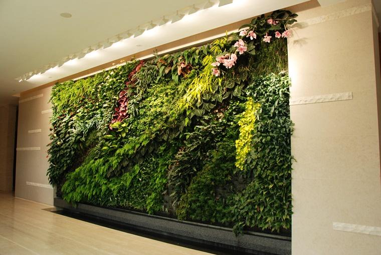 giardino verticale hong kong progetto design bellissimo