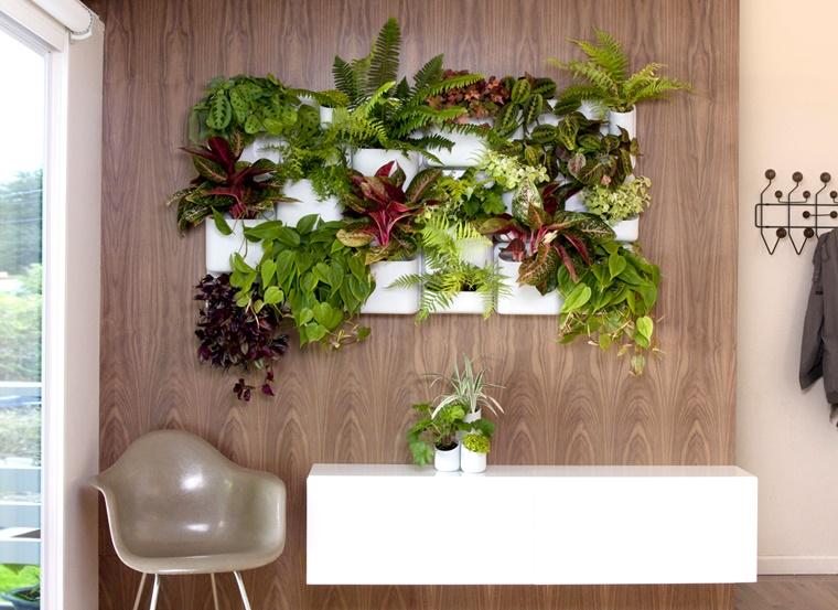 Giardino verticale - varie idee per lesterno e linterno - Archzine.it
