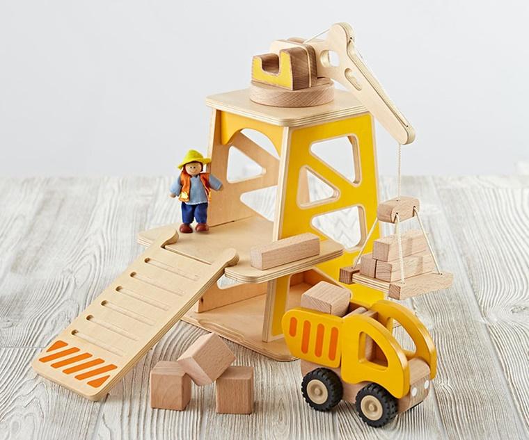 giocattolo camion legno eco sostenibile