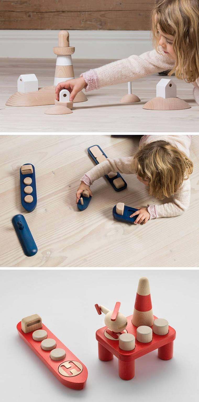 gioco bambini legno diverse forme colori