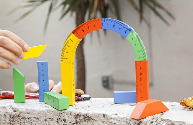 gioco educativo legno diversi colori