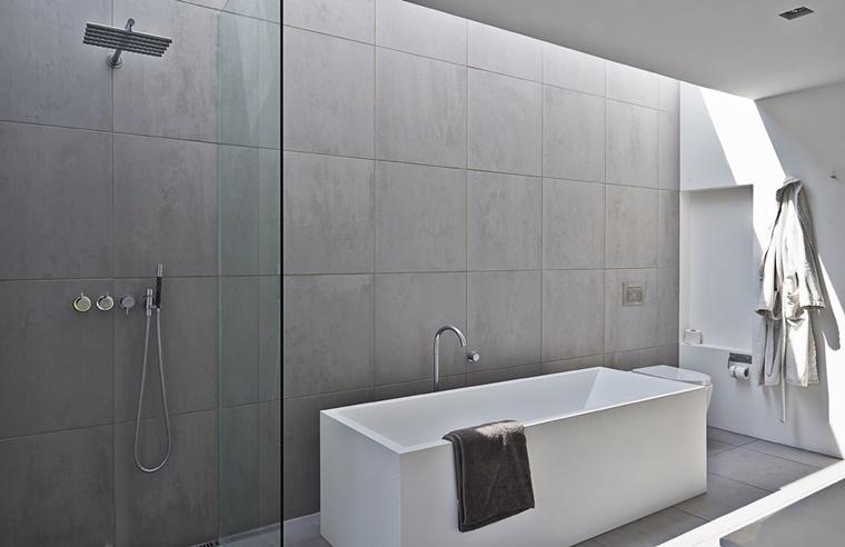 Bagno moderno minimal idee di design per la casa