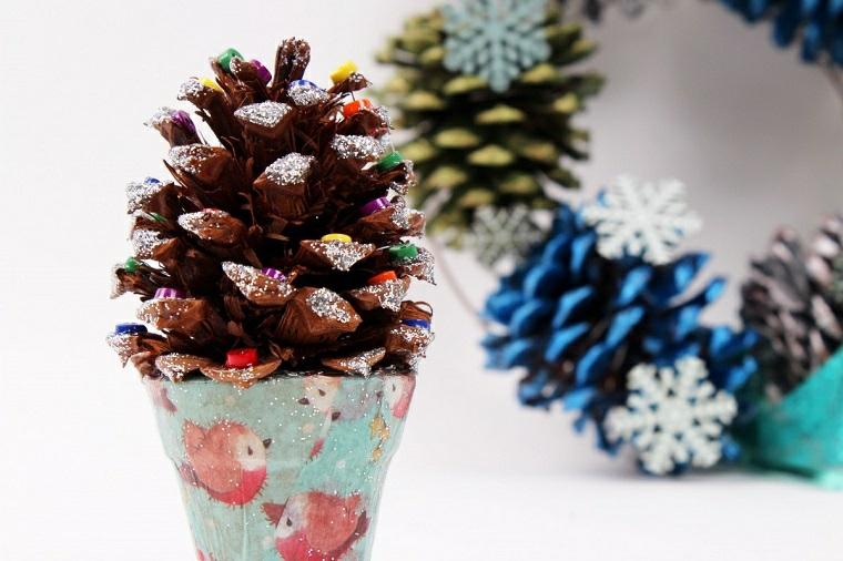idee decorazioni natalizie semplici bambini