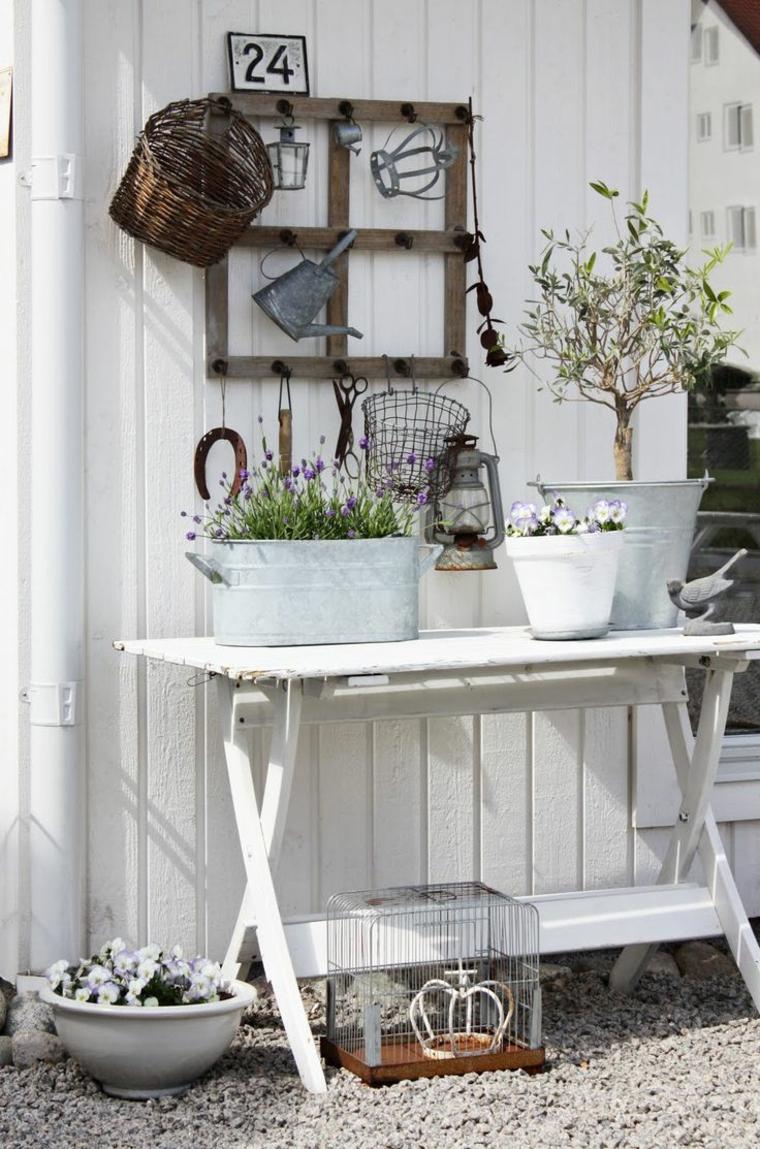 idee giardino interessanti particolari dettagli legno