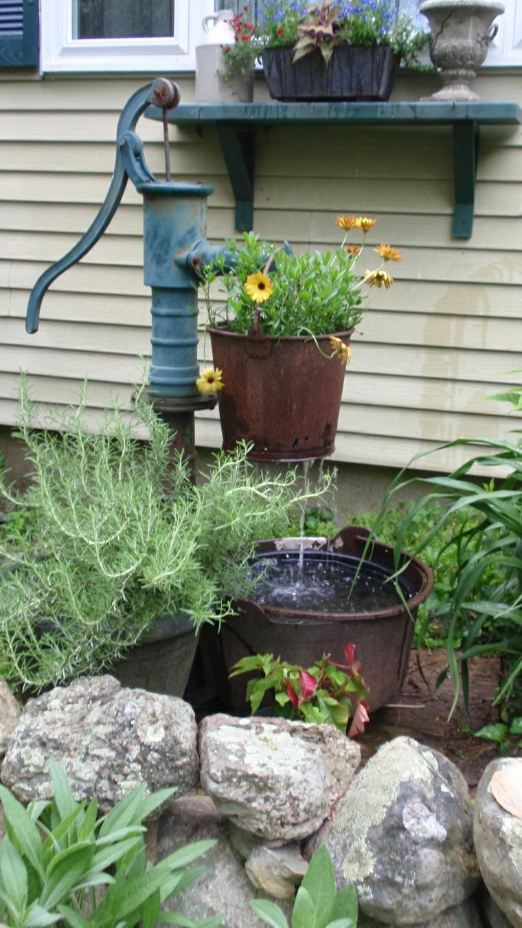Idee giardino 18 modi diversi per decorare il giardino - Oggetti per giardino ...