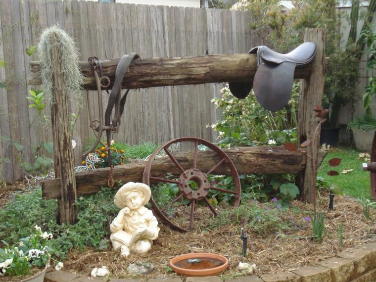 idee per il giardino interessanti stile vintage
