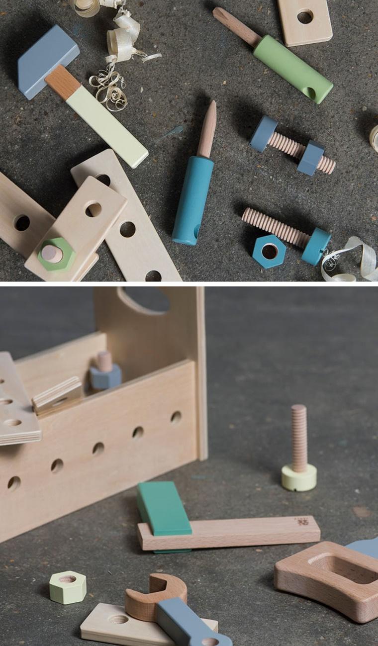 idee regalo legno cassetta attrezzi maschietti