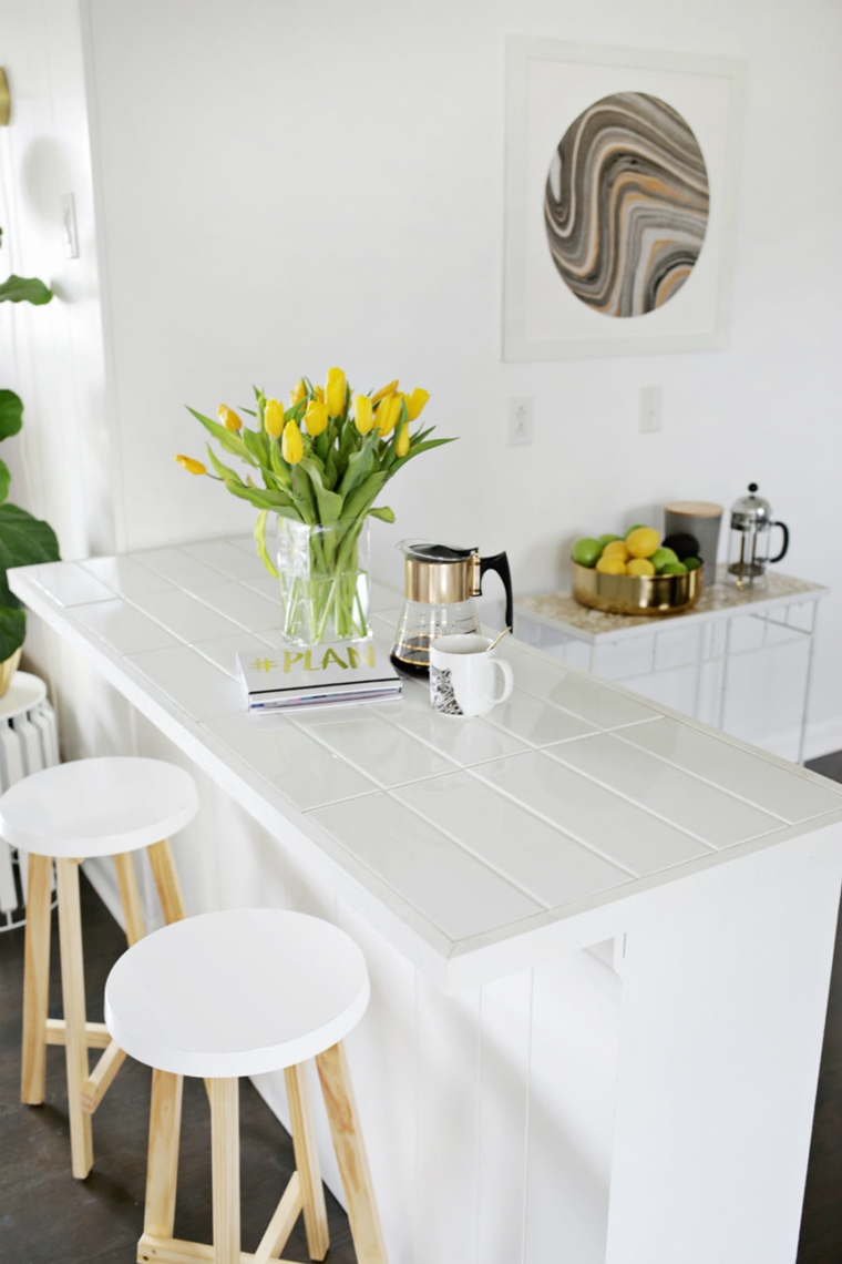 idee usare lastre top cucina moderno