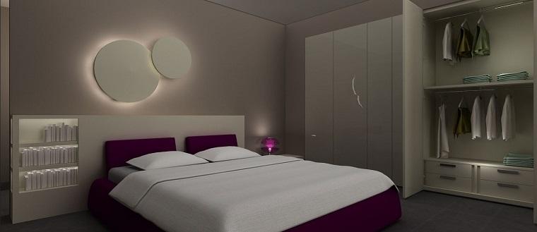 Illuminazione camera da letto idee straordinarie for Camera da letto luci