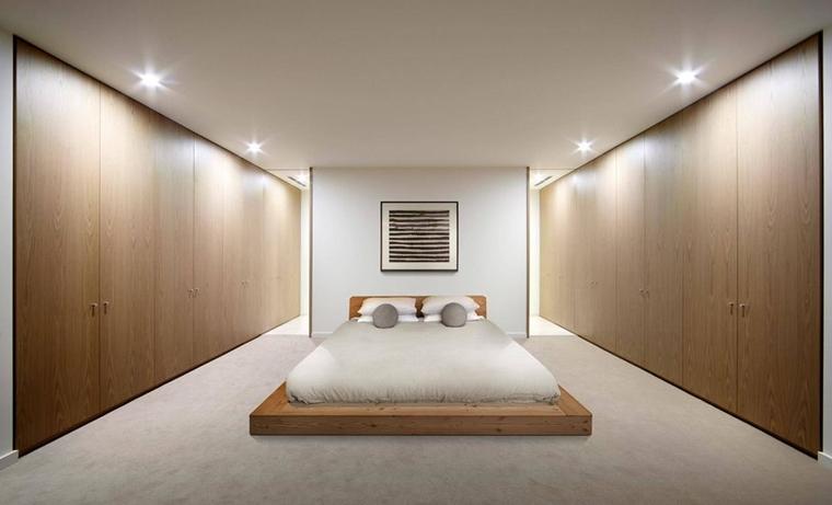 illuminazione led camera letto moderna