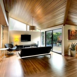 Illuminazione tetto in legno - ecco alcune idee innovative