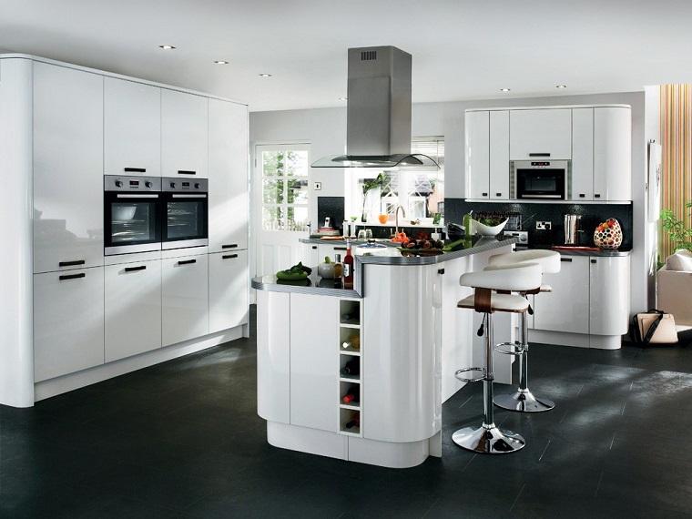 Immagini cucine moderne soluzioni di design e praticit for Disposition cuisine en l