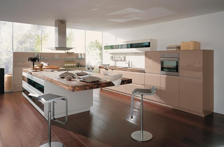 Immagini cucine moderne soluzioni di design e praticit - Cucine in stile rustico ...