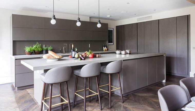 Immagini cucine moderne soluzioni di design e praticit - Illuminazione per cucina moderna ...