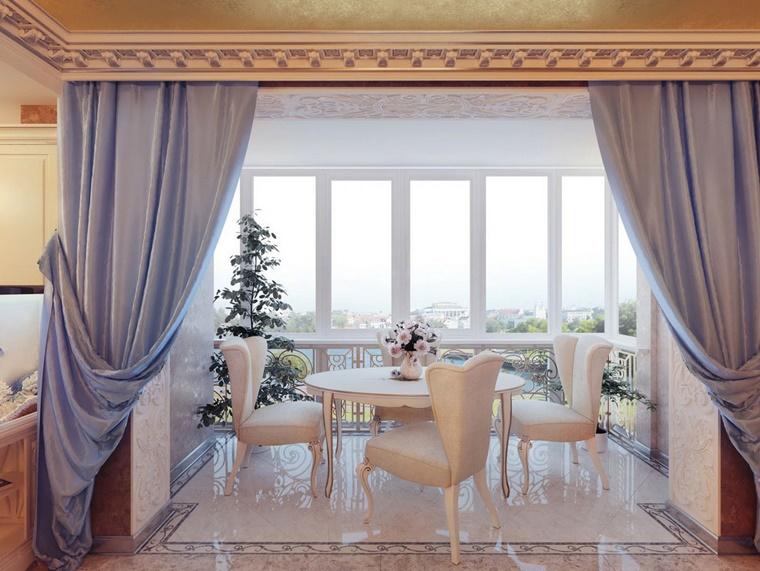 interior design stile classico mobili bianchi