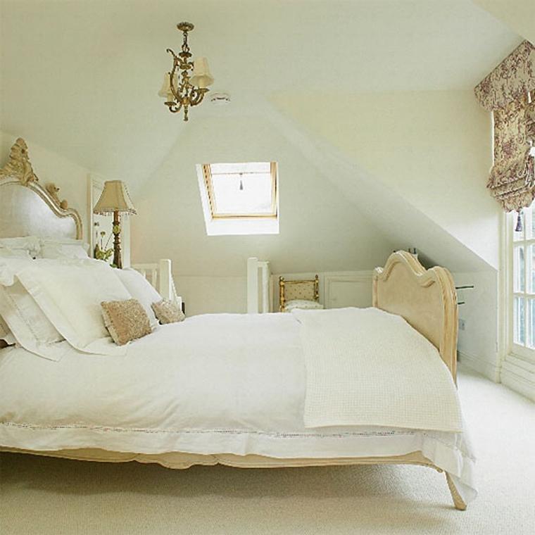 lampadari moderni piccoli camera letto stile classico biancheria letto bianca