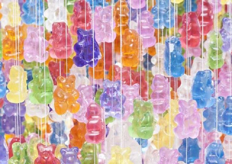lampade colorate speciali orsacchiotti gomma acrilica