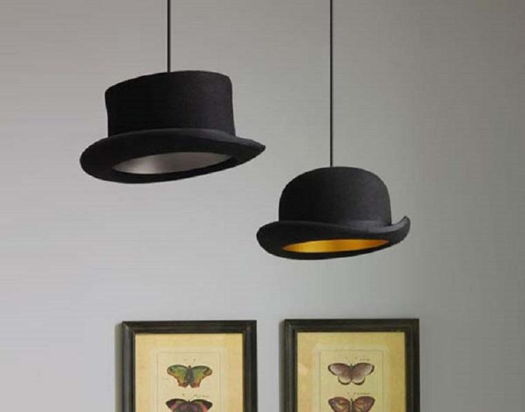 lampade forma particolare cappello classico