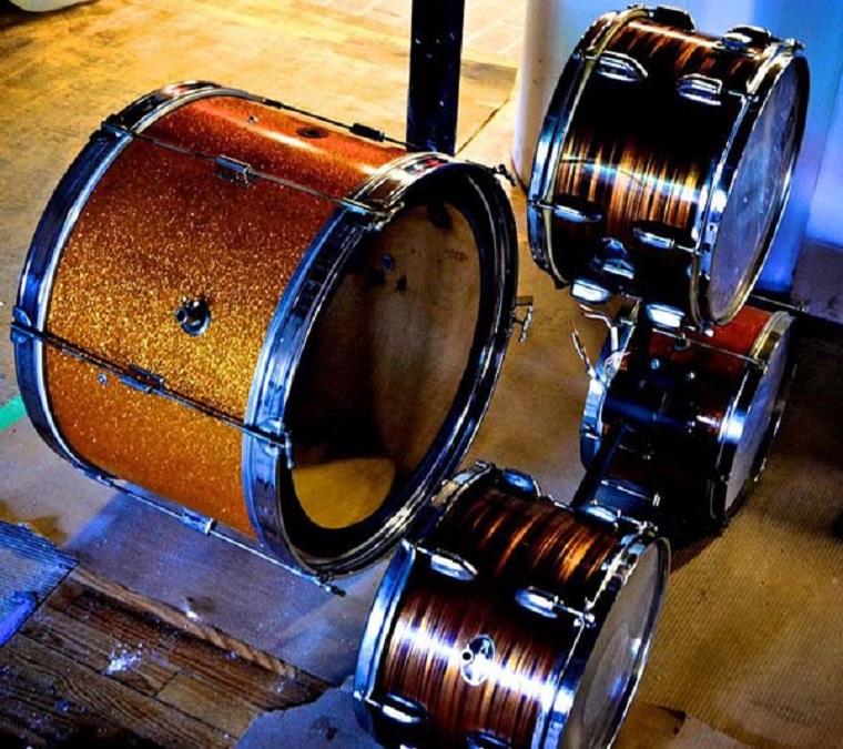 lampade forma speciale batteria musicale