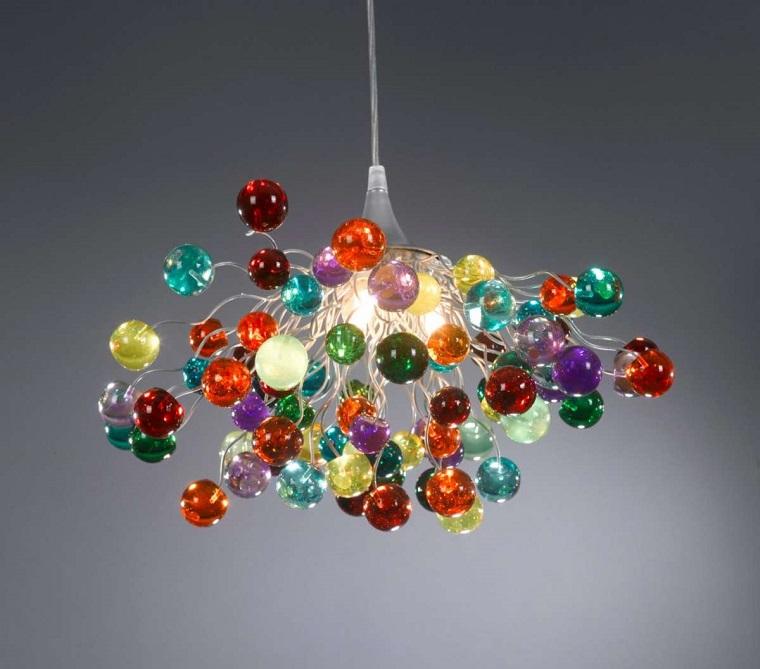lampade vivaci colorate semplici economiche