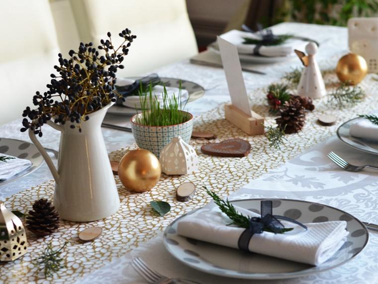 Decorazioni Da Tavola Natalizie : Decori natalizi stile ed eleganza per addobbare la vostra tavola