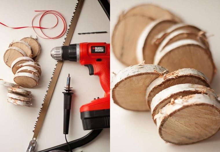 Lavoretti di natale stupendi fatti a mano e tutti in legno - Decorazioni natalizie con il legno ...