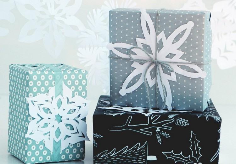 lavoretti natalizi fai te carta incollate regali