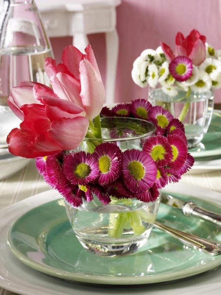 lavoretti primavera fiori freschi colorati