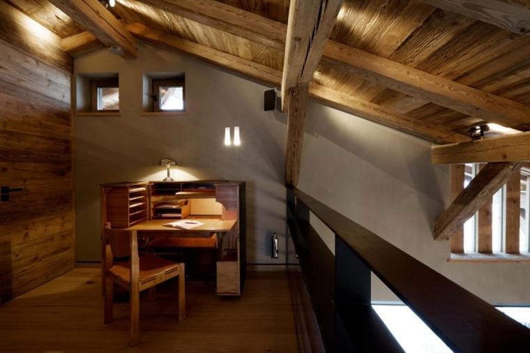 Illuminazione Bagno Mansarda : Illuminazione tetto in legno idee innovative e di stile