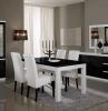 mobili-bianco-nero-lucido-arredare-sala-da-pranzo