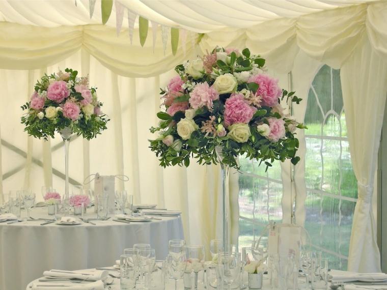 nozze addobbi fiori colorati vivaci