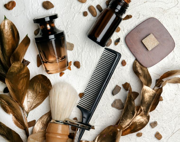 oggetti per la cura del viso uomo olio per la barba regalo di natale per lui