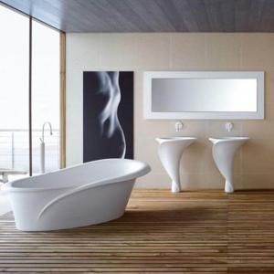 Pavimento grigio tutte le sfumature dell 39 eleganza in chiave moderna - Pavimento bagno moderno ...