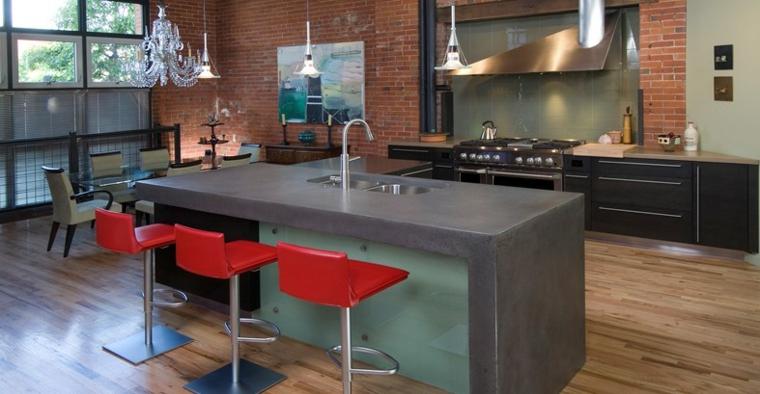 Top per cucine alcune idee originali per i piani da cucina - Piano cucina in marmo ...