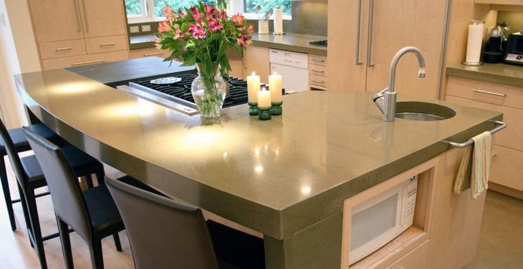 piano di lavoro cucina design moderno