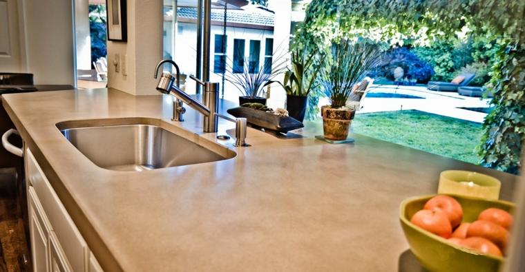 piano lavoro cucina decorato marmo