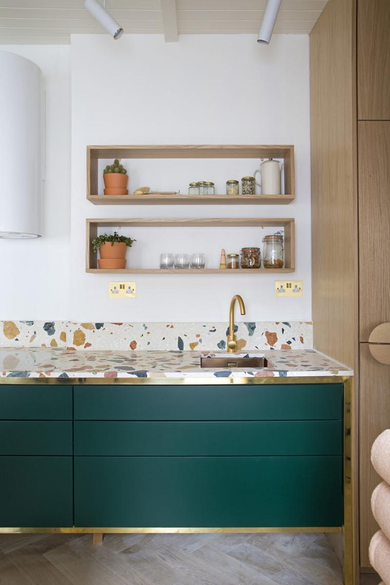 piano lavoro cucina marmo artigianale