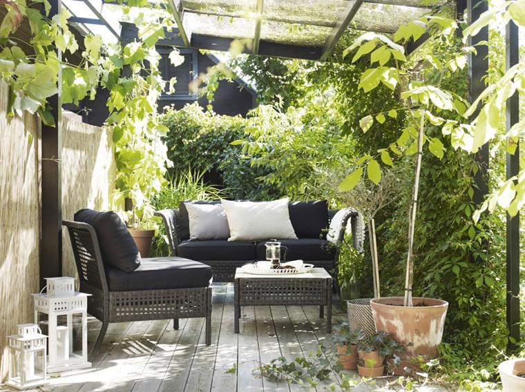 Credenza Da Balcone : Arredamento da terrazzo amazing full size of divani giardino