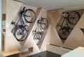 Portabiciclette da parete – soluzione ideale e anche di design