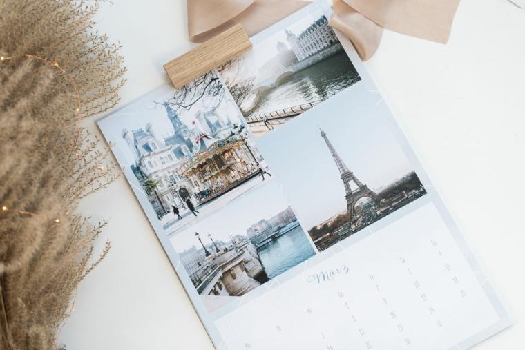 regali originali per lui calendario con fotografie idea fai da te