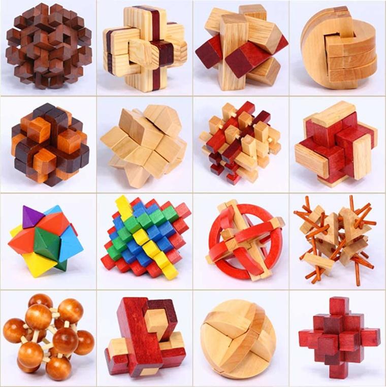 regali originali tridimensionali legno bambini