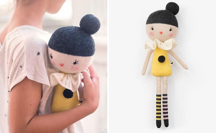 regali per bambini bambola stoffa
