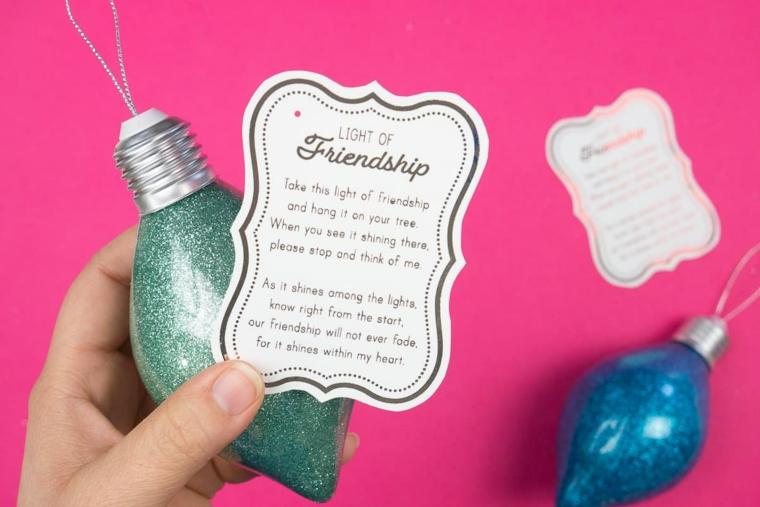 regalo migliore amica regali di natale originali a poco prezzo etichetta personalizzata