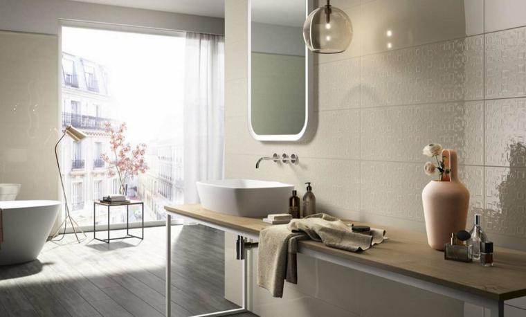 Bagni moderni idee per un arredamento contemporaneo - Bagno arredamento piastrelle ...