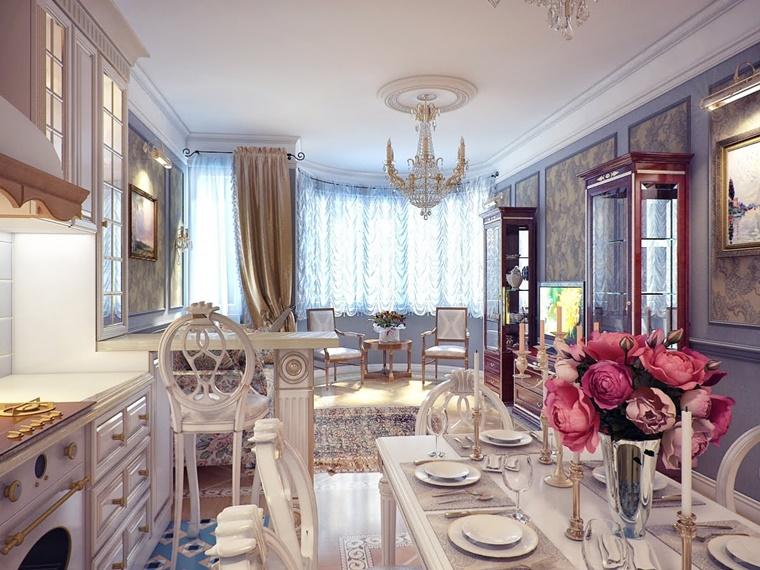 sala da pranzo classica arredo decorazioni bellissimi